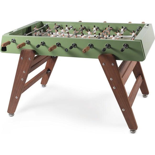 RS #3 Indoor/Outdoor Foosball Table, Green/Wood - Foosball Tables - 1