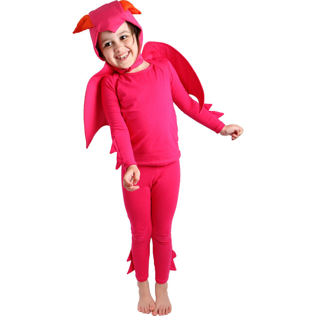 Pink Dragon Costume