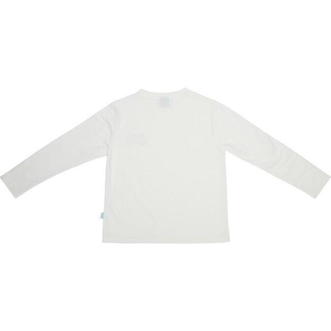 Adult Mon Coeur Logo Long Sleeve T-Shirt, Cream