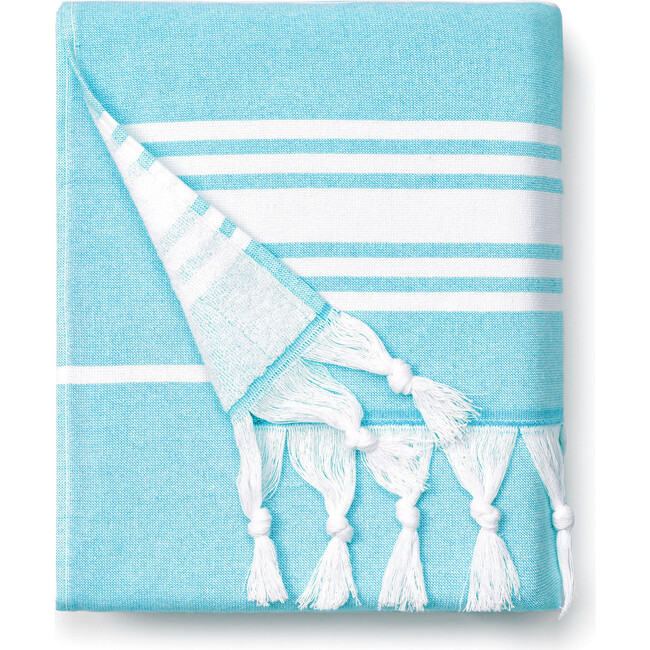 Turkish Towel, Aqua