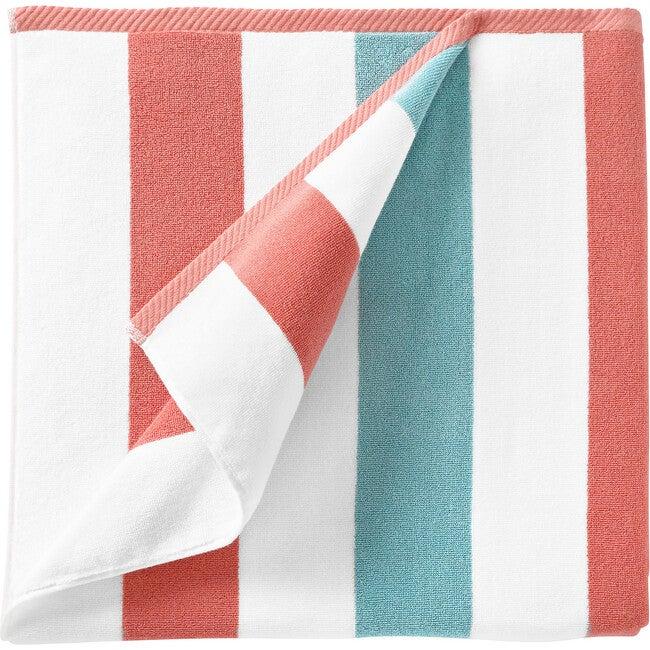 Cabana Towel, Coral & Sea Glass