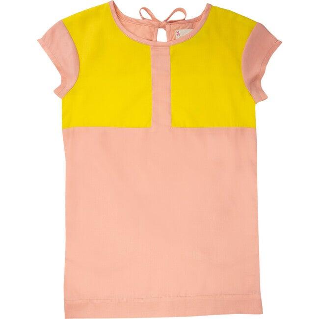 Lola Dress, Pink & Carnation - Dresses - 1