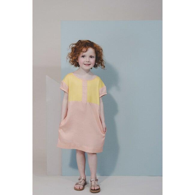 Lola Dress, Pink & Carnation