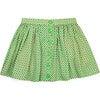 Lily Skirt, Green Confetti - Skirts - 1 - thumbnail