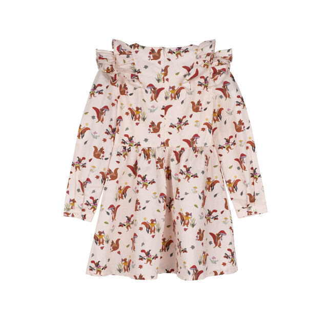 Lexi Dress, Cream Squirrels