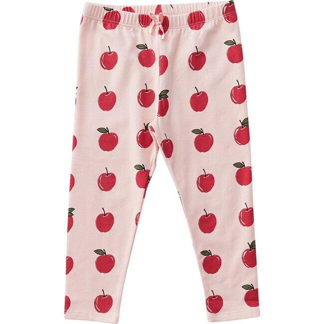 Organic Legging, Strawberry Cream Apples