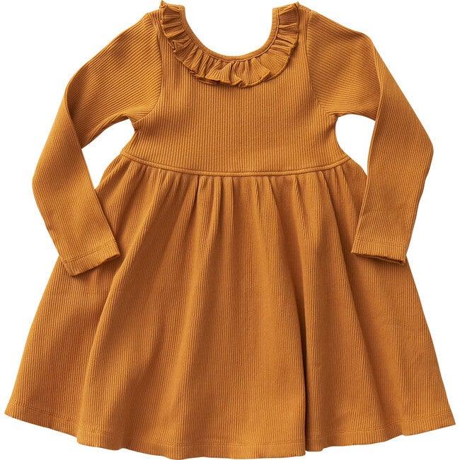 Organic Princess Diana Dress, Inca Gold