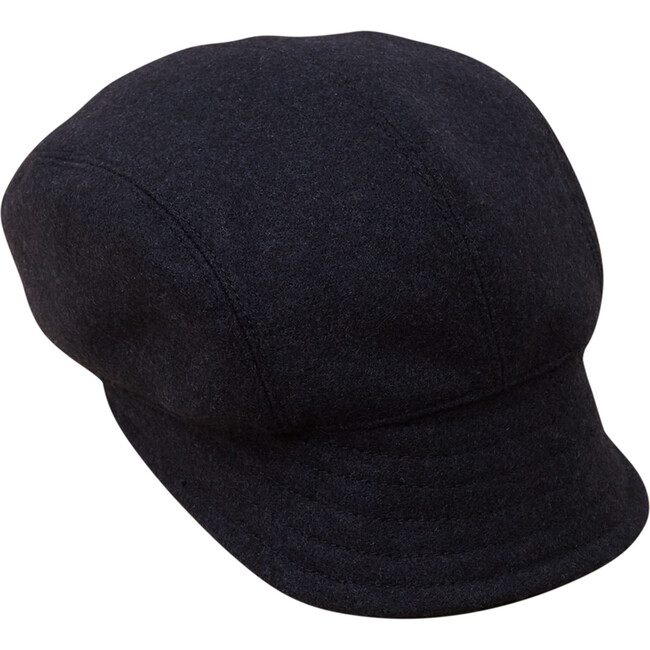 Classic Wool Hat, Navy