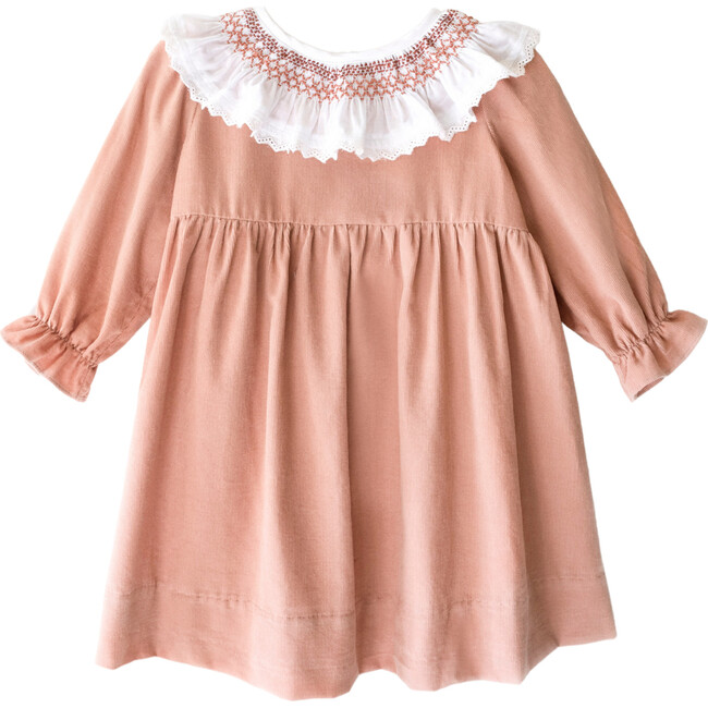Bethy Dress in Pink Clay
