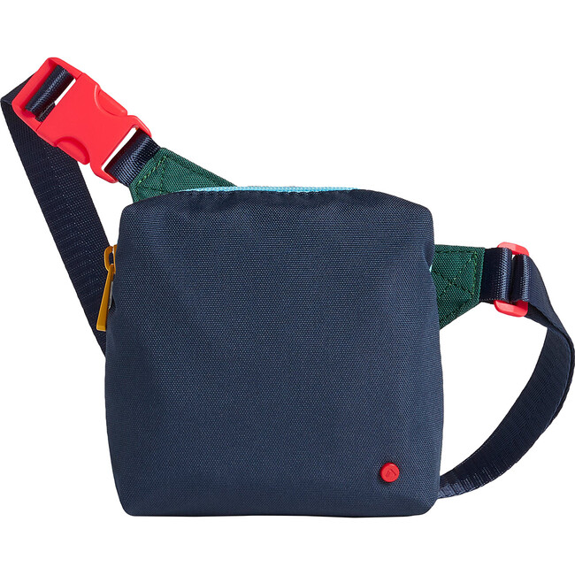 Lorimer Kids Fanny Pack, Green and Navy