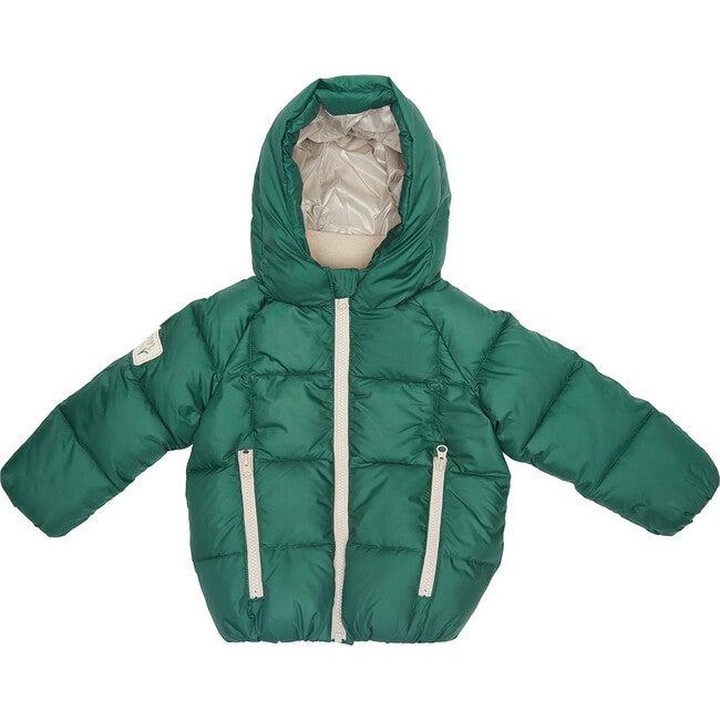 Puffer Jacket, Green