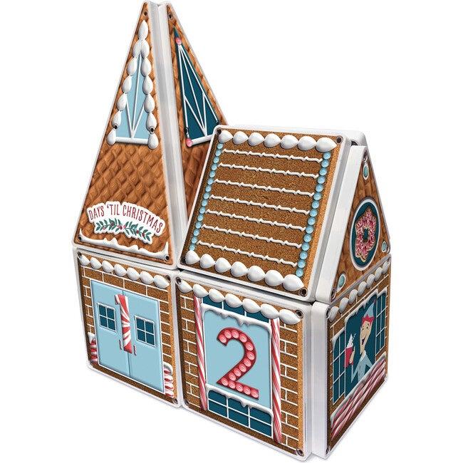 Gingerbread Advent Calendar Magna-Tiles Structure Set