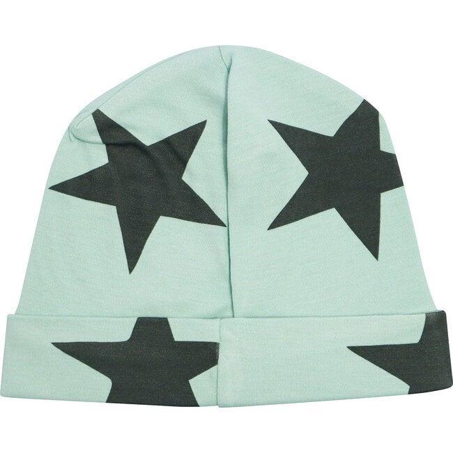 Bold Star Receiving Hat in Zanzibar Green