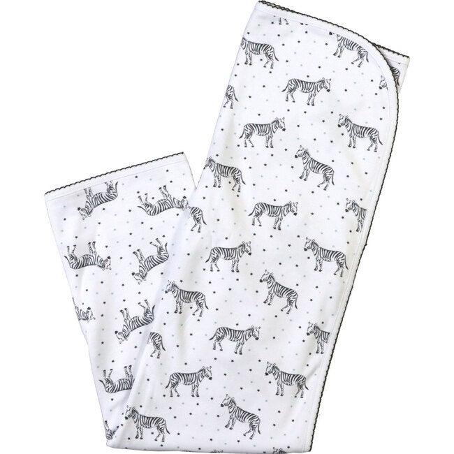 Zebra Mini Star Blanket