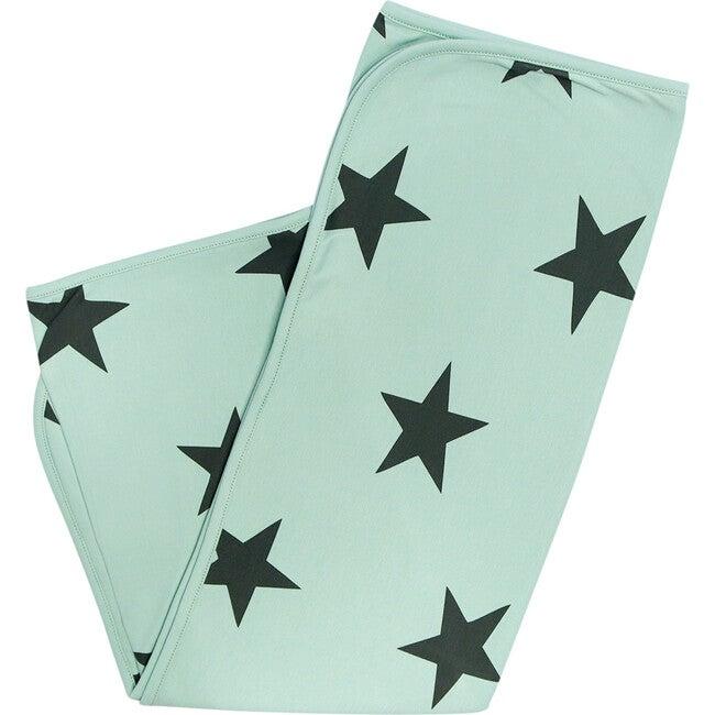 Bold Star Blanket in Zanzibar Green