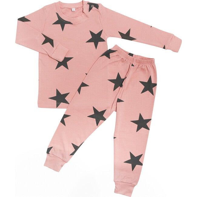 Bold Star Two Piece Pajama  in Sahara Sunset - Pajamas - 1