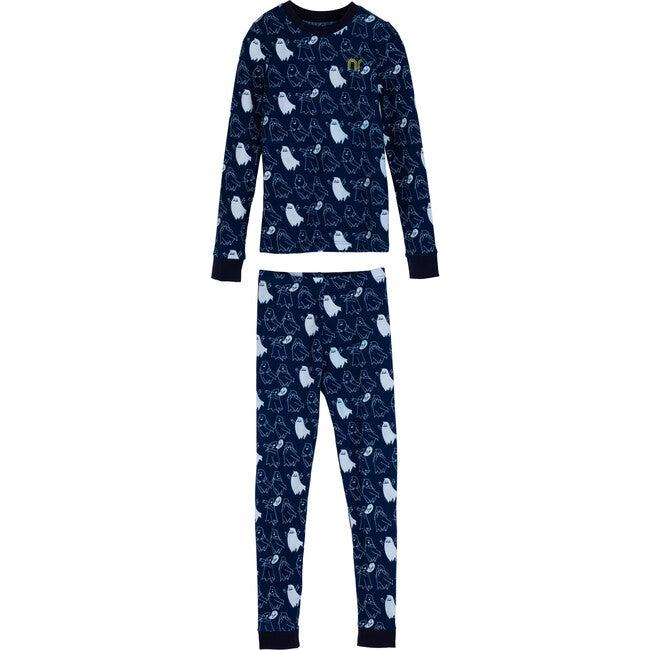 Dahl Pajama Set, Ghosts