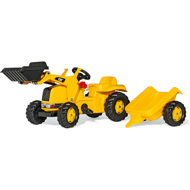 CAT Kid Tractor with Trailer - Ride-On - 1