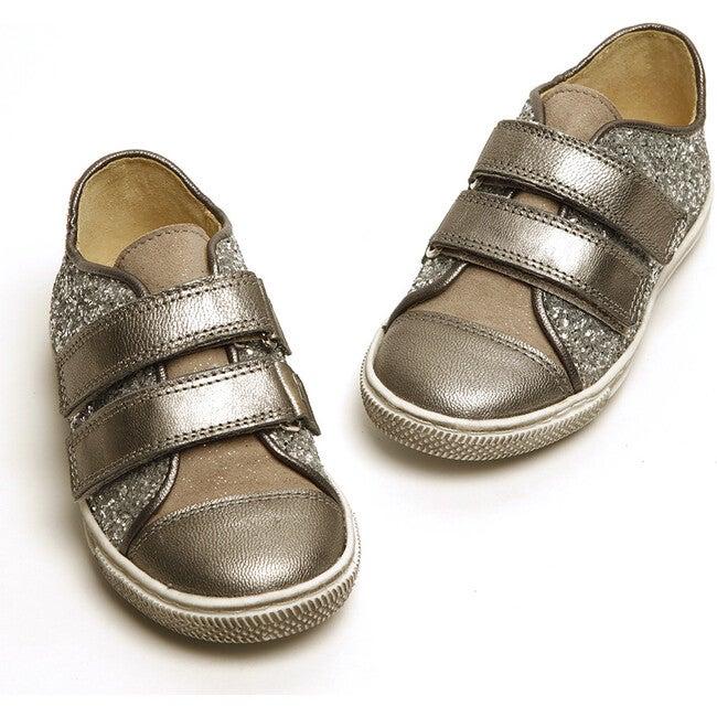Elfie Dazzle Sneaker, Silver