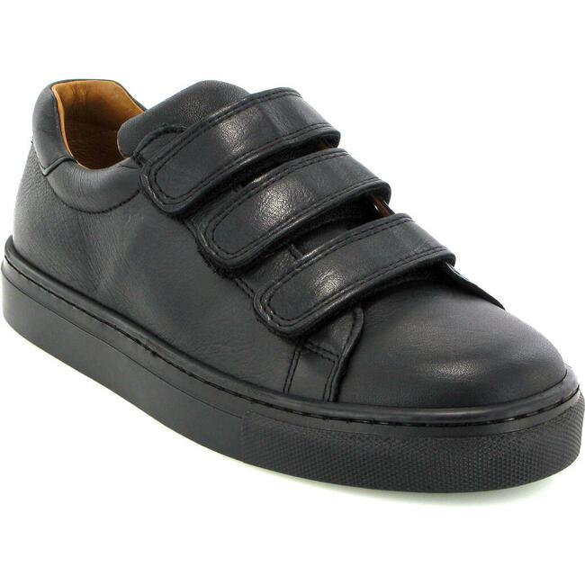 Three Straps Sneaker, Black