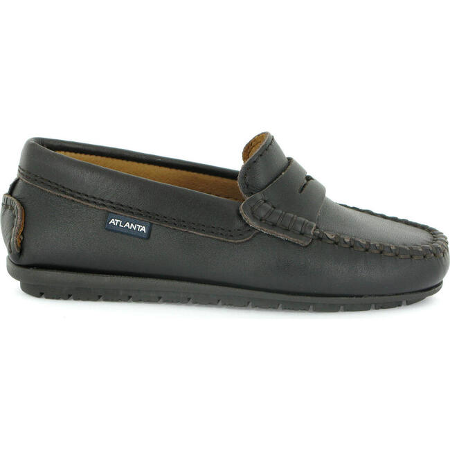 Penny Moccasin in Smooth Leather, Dark Brown