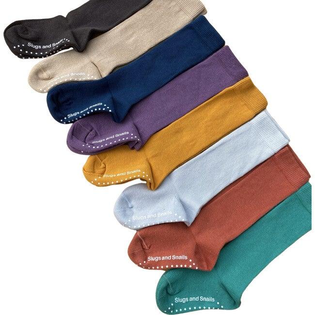 Luxury 90% Organic Cotton Knee Socks Set, Fall Multi