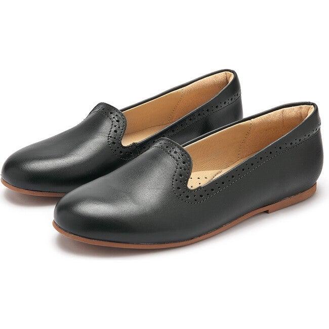 Sindy Slipper Shoe Hunter Green Leather