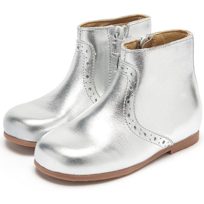 Roxy Pixie Boot Silver Leather