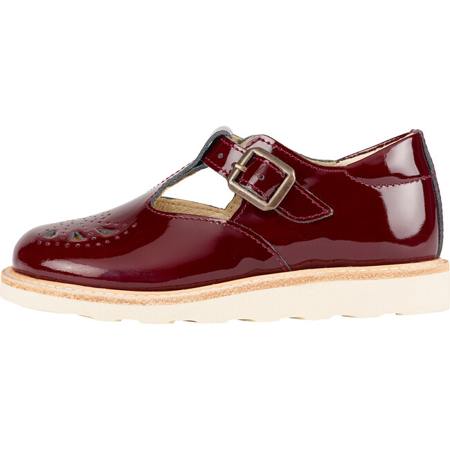 Rosie T-Bar Shoe Cherry Patent Leather