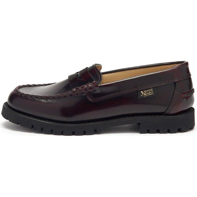 Nicki Loafer Shoe Oxblood High Shine Leather