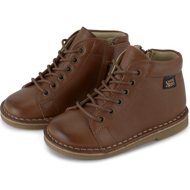 Fletcher Monkey Boot Tan Burnished Leather