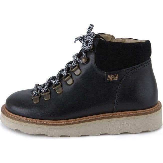 Eddie Hiking Boot Black Leather