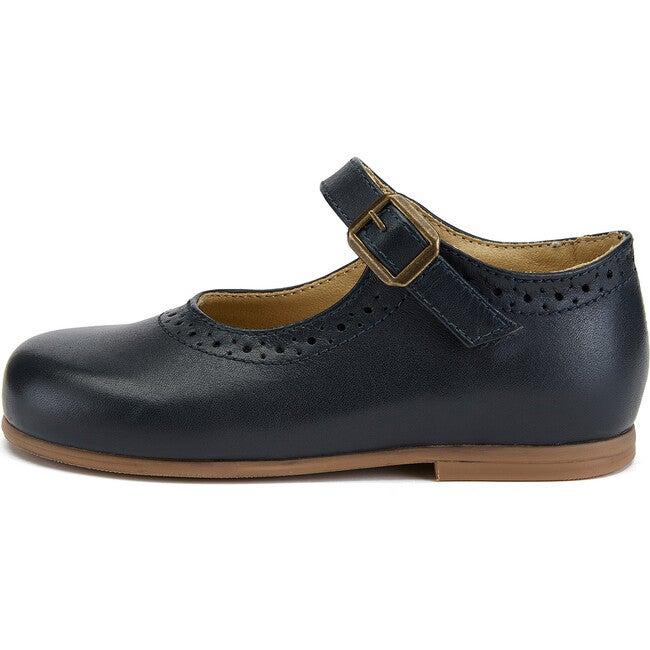 Diana Mary Jane Shoe Navy Leather