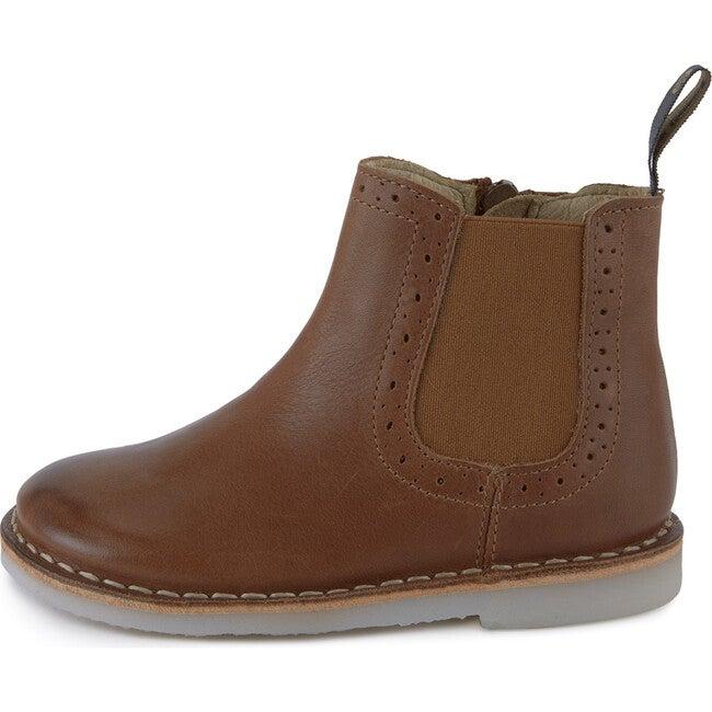 Marlowe Chelsea Boot Tan Burnished Leather