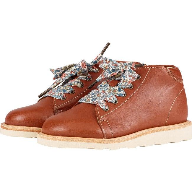 Hattie Monkey Boot Chestnut Brown Leather