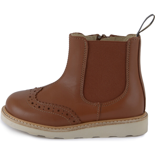 Francis Chelsea Boot Chestnut Brown Leather