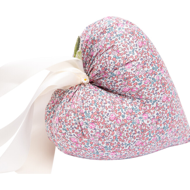 *Exclusive* Liberty of London Hanging Heart, Pink Floral