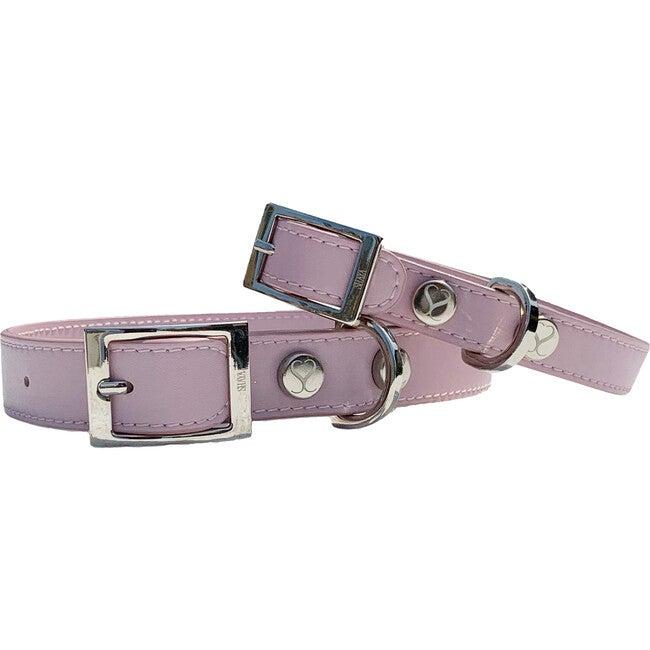 Taylor Collar, Blush Pink Leather