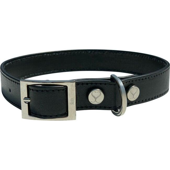 Taylor Collar, Black Leather