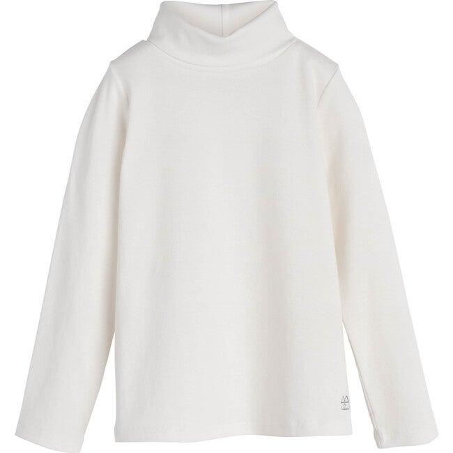 Kennedy Turtleneck, White - Shirts - 1