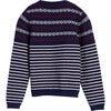 Blair Fairisle Stripe Sweater, Navy Multi - Sweaters - 3