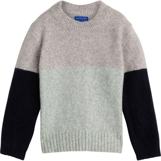 Peter Sweater, Mint Multi - Sweaters - 1