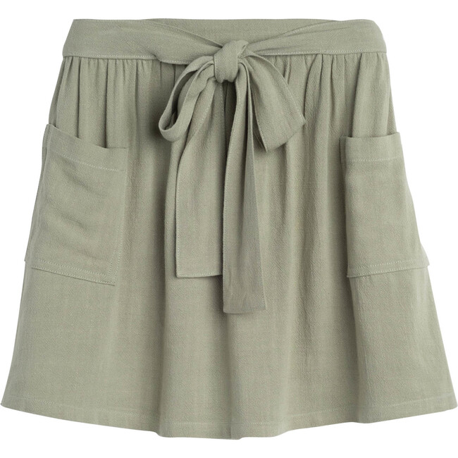 Willow Bow Skirt, Sage