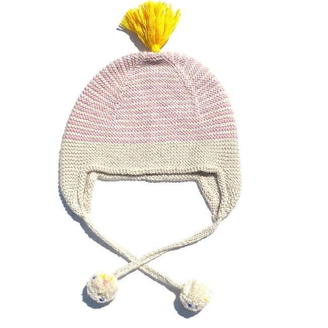 Tassled Hat Pom Pink