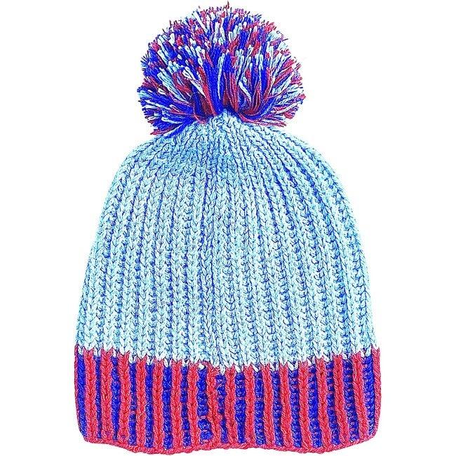 Sprinkle Hat Sky Blue/Red