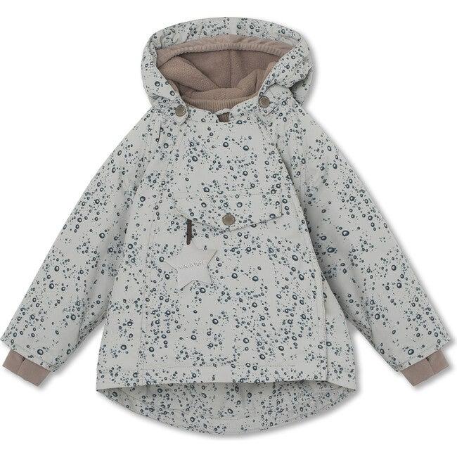 Printed waterproof Wang Jacket, Moon Grey