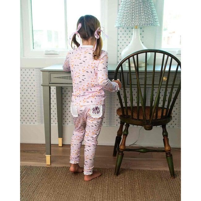 Hocus Pocus Halloween Pima Cotton Pajama Set, Lavender