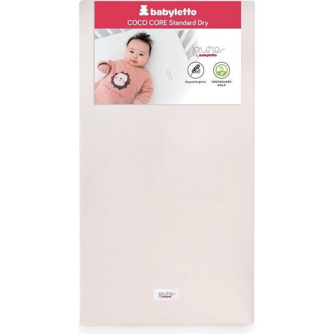 Coco Core Crib Mattress & Dry Waterproof Cover, White