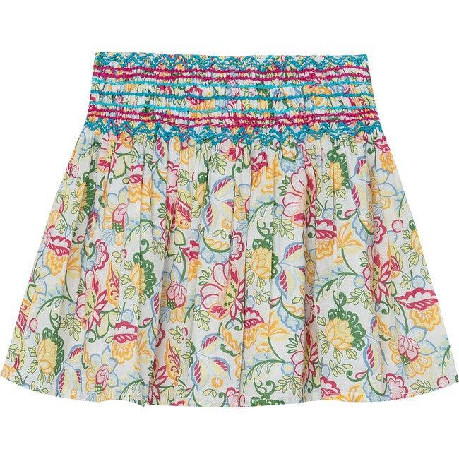 Floral Pixie Skirt, Multi