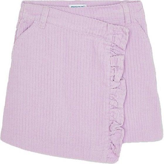 Corduroy Skirt, Lilac